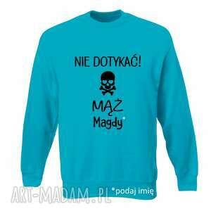 handmade pomysł na świąteczny prezent bluza z nadrukiem dla chłopaka, narzeczonego