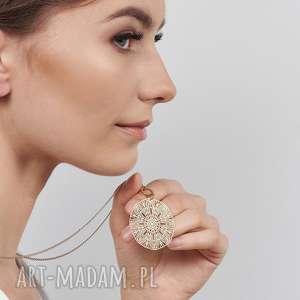 naszyjnik z orientalnym wzorem pasithea c670-nasz, nowoczesny naszyjnik, ażurowy