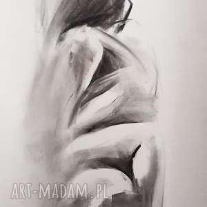 love, grafika-do-sypialni, miłość-grafika, rysunek-węglem, kobieta-akt, akt-obraz,