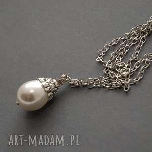 Wisiorek z perłą seashell wisiorki sisu perła, perełka
