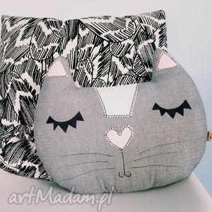 kocia poduszka - poduszka, kot, kotek, podusia, cat, dekoracyjna