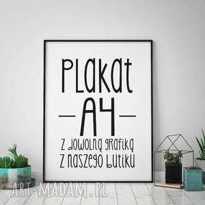 Prezent Plakat A4 Z KAŻDYM WZOREM NASZEGO BUTIKU , każdy, wzór, prezent, wystrój