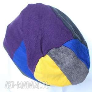 czapki patchworkowa czapka damska męska, czapka, etno, patchwork, męska