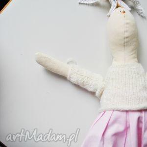 ręcznie robione maskotki pani królik