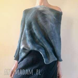 handmade tuniki elegancka bawełniana narzutka