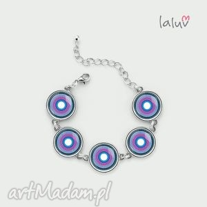 bransoletka peace mandala, pokój, szczęście, miłość, symbol, talizman, grafika