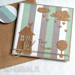 na PARAPETÓWKĘ :: kartka handmade nowy dom, parapetówka, parapetówkę
