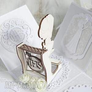 po godzinach pudełko kartka komunia święta, kartka, kartki, exploding, pierwsza