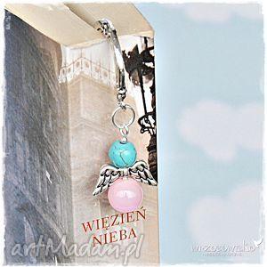 pomysł na upominek Zakładka do książki - Anioł Pastelowy, zakładka, anioł, aniołek