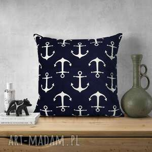 poduszki żeglarska poduszka w kotwice, żeglarska, kotwica, do spania