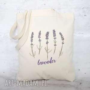 creo eko torba na zakupy bawełniana lawenda, torba, zakupy, ekologiczna, nadruk