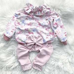 Bluza i spodnie dresowe slow village dres dla dziecka, dresowa