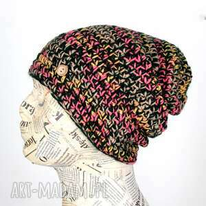 GoDeco. 053 kolorowa czapka beanie ciepła unisex