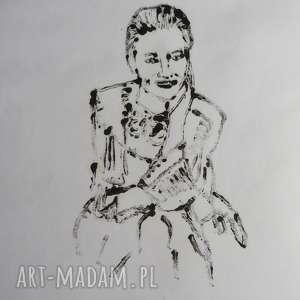 Prezent Grafika Kobieta , grafika, sztuka, kobieta, modern, prezent, dekoracja