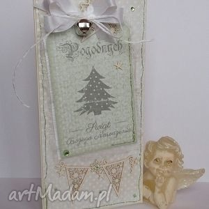 kartka świąteczna - białe kartki, życzenia, narodzenie
