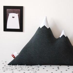 poduszki poduszka góra grafitowa, poduszka, skandynawska dom, pod choinkę