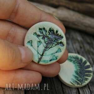Tasznik - broszka broszki enio art tasznik, zioła, kwiaty polne