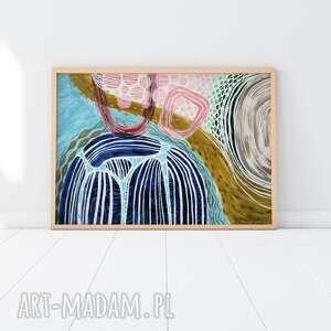 creo plakat a3 - abstrakcja, plakat, wydruk, nowoczesny, obraz