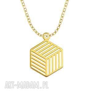 lavoga celebrate - cube - necklace g - celebrytki