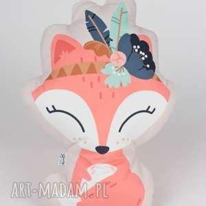 poduszka - przytulanka lis - przytulanka, poduszka, dziecko, prezent, urodziny