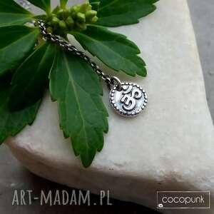 joga naszyjnik z symbolem om - srebro 925 amulet talizman - prezent dla joginki