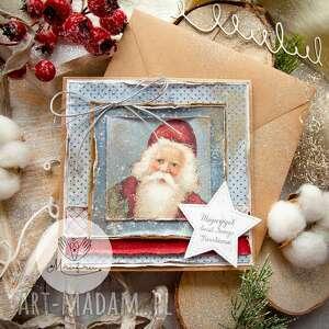 Prezent pod choinkę! Magiczna kartka na święta bożego narodzenia
