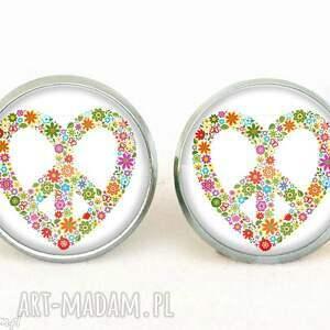Prezent Peace ty, peace, love, sztyfty, wkrętki, prezent, serce