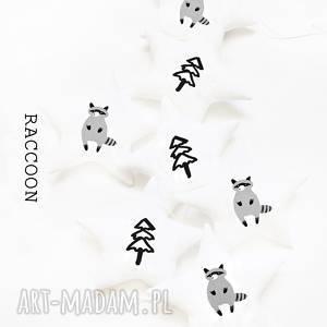 RACCOON - girlanda SZOP, girlanda, gwiazdki, szop, raccoon