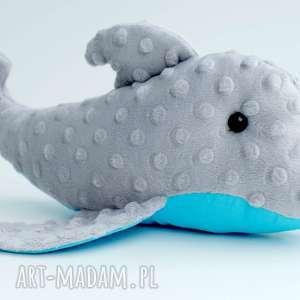 delfin maskotka przytulanka - niemowlę, zabawka, rybka minky