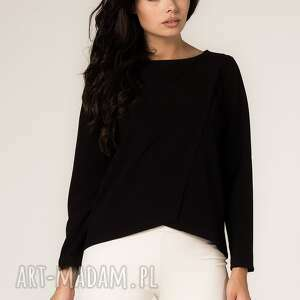 bluzka agata 3, elegancka, asymetryczna, modna, asymetria, casual, codzienna