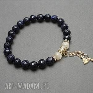 navy blue /troki/ vol 7 - bransoletka, kamienie, minerały, boho, chwosty, ki