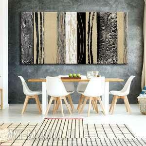 art and texture bardzo duży obraz do salonu z rzeźbą, obrazy nowoczesne, duże