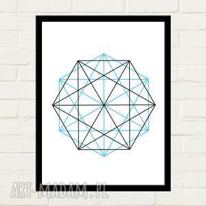 double hexagon plakat 70x100, plakat