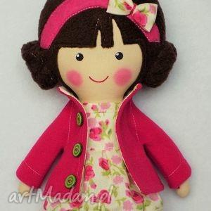 dollsgallery malowana lala karolinka, lalka, zabawka, przytulanka, prezent