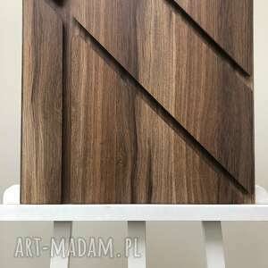 Obraz drewno 3d 50x50cm ovo design dekoracja, panel, obraz