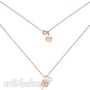 handmade naszyjniki naszyjnik z różowego złota kettlebell active life