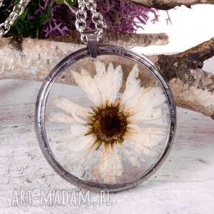 naszyjniki z1015 naszyjnik z suszonymi kwiatami herbarium, naszyjnikzkwiatami