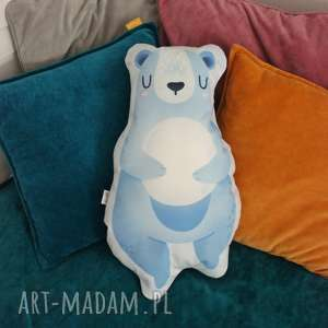 zabawki poduszka - przytulanka miś moon, mis, dziecko, poduszka