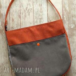 torba hobo z kieszenią, torba, torebka, na-ramię, prezent, kropki, hobo, wyjątkowy