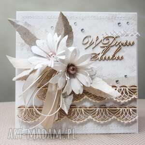 Ślubna elegancja - w pudełku - ślub, para, życzenia, gratulacje
