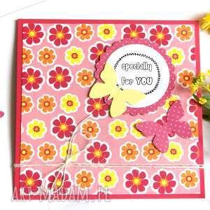 Specially for you:: kartka handmade kartki kaktusia urodziny,