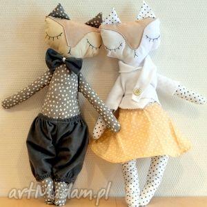hand made zabawki mrs and mr lisek - mia&lou