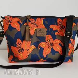 torebki torebka mini plus pocket wodoodporna brelok frędzel washpapa - lilia