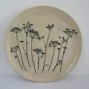 dekoracyjny talerz z baldachami, ozdobna, talerz, ceramiczny, prezent ślubny