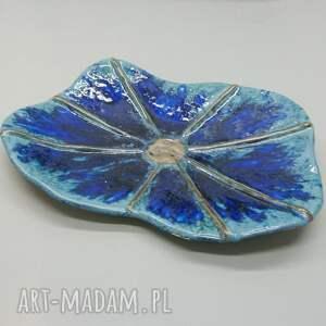 ceramika patera intensywny kobalt, patera, dekoracja, stół, ceramika, prezent