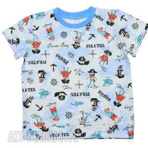 6c60c6e1aa65d9 piraci niebieska koszulka bawełniana z krótkim rękawem, ...