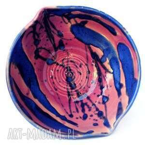 ceramika ceramiczna miska - eliptyczna iii nr108, miska, naczynie, użytkowe