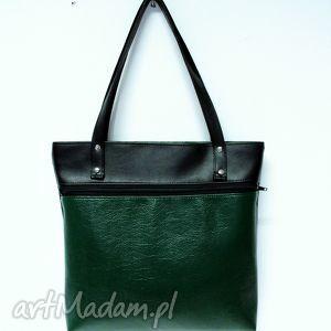ręczne wykonanie na ramię shopper bag z kieszenią