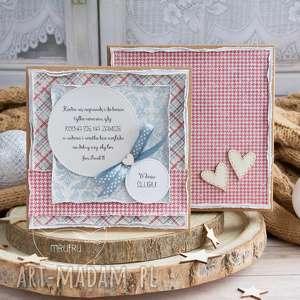 scrapbooking kartki wyjątkowa warstwowa kartka ślubna w pięknym ozdobnym