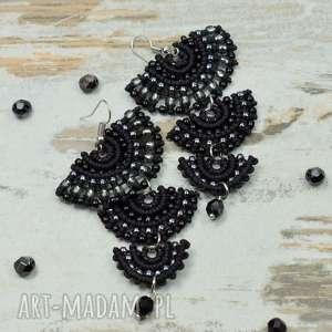 czarne-kolczyki